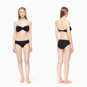 NEW Kate Spade Georgica Beach Bandeau Bikini Set S